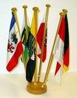 Tischflaggen 15 x 25 cm Polyseide