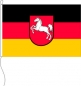 Mobile Preview: Flagge Niedersachsen 50 x 75 cm