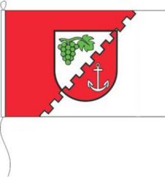 Fahne Flagge Nordrhein-Westfalen 30x45 cm mit Stab