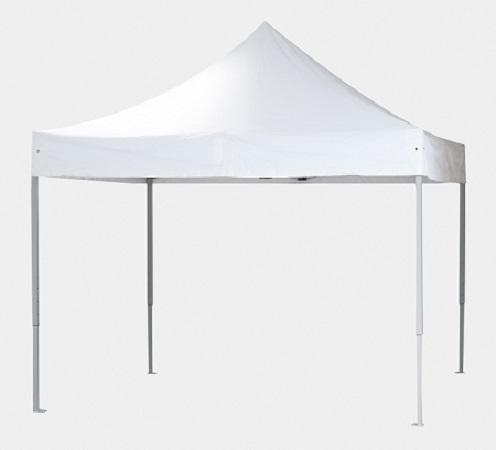 EXPO-Zelt: bedrucktes Dach inkl. Gestell und Transporttasche, wasserabweisend