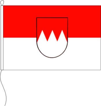 Tischflagge Franken 11 x 16 cm Flaggen Fahne