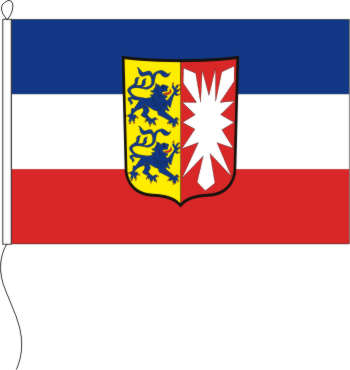 Tischflagge Schleswig Holstein Mit Wappen 10 X 15 Cm Maris