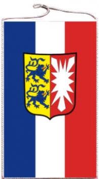 Tischbanner Schleswig Holstein Mit Wappen 15 X 25 Cm Maris