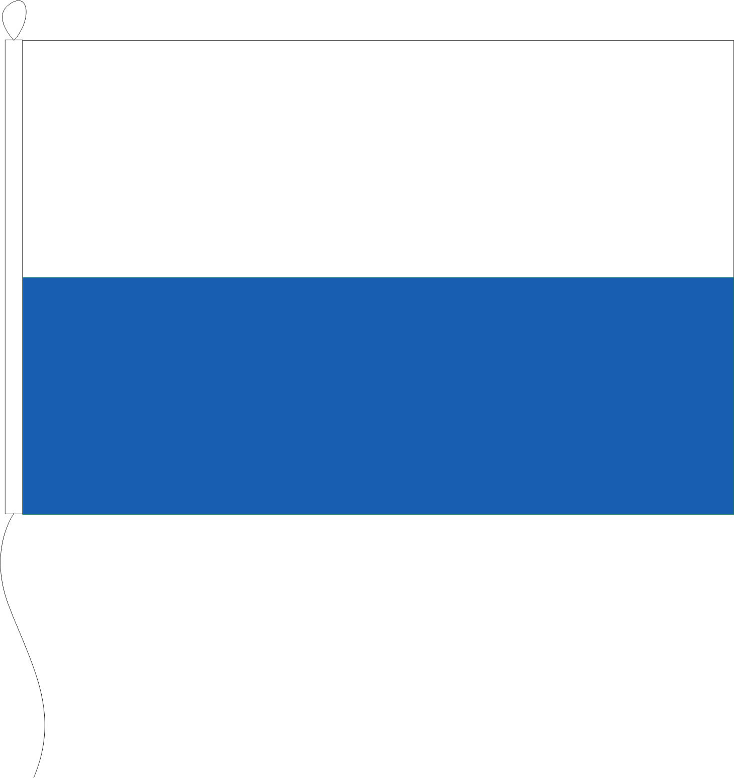 Flagge Bayern Weiß/blau 20 X 30 Cm Marinflag