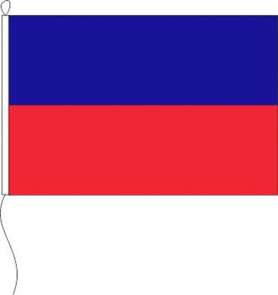 Flagge Oldenburg Blau/rot 80 X 120 Cm Marinflag M/I